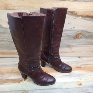 Clark's Artisan Collection Brown Leather Boots